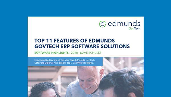 Top 11 Features of Edmunds' ERP Software